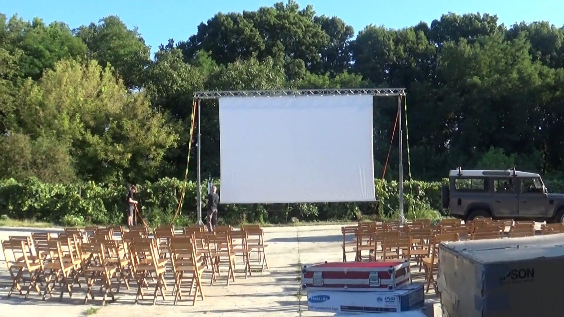 Apericena e Cinema nell'aia delle Cascine Orsine